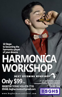 The Ultimate Harmonica Workshop ONLY $39!