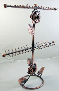 1pc-copper-New-Necklace-Bracelet-Jewelry-Display-Rack-Holder-Tree-d037