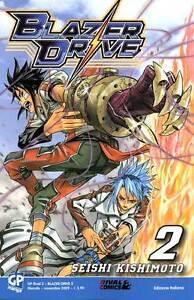 Blazer Drive GP Manga completa 1-9 ottimo/da edicola - Italia - Blazer Drive GP Manga completa 1-9 ottimo/da edicola - Italia
