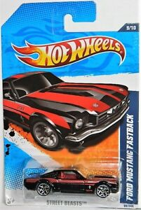 Hot Wheels 1/64 Ford Mustang Fastback Diecast Car