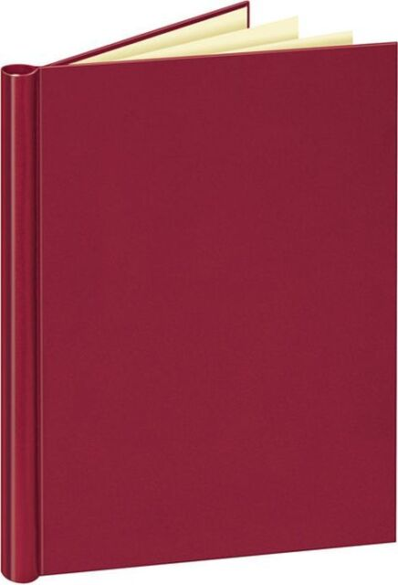 Veloflex A4 Klemmbinder, Klemmmappe, mit Leinenstruktur Nr. 4944, rot