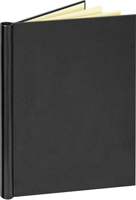 Veloflex A4 Klemmbinder, Klemmmappe, mit Ledernarbung Nr. 4944, schwarz