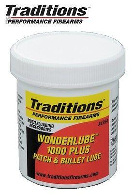 Traditions Wonderlube 1000 Plus Lube 4 oz  Jar # A1254 New!
