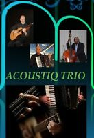 ACOUSTIQ TRIO - BACKGROUND MUSIC FOR ANY EVENT