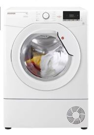 NEW GRADED !!! HOOVER 9 KG DX C9DG CONDENSER TUMBLE DRYER - WHITE WITH 12 MONTHS WARRANTY RRP £249