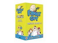 Family Guy Complete Seasons 1-5 box set. Unopened brand New, £10
