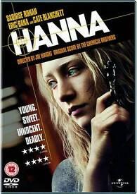 Hanna DVD excellent condition