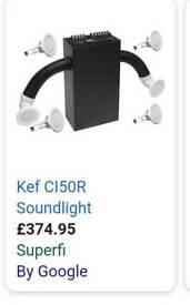 Kef Sound light cieling speaker syestem
