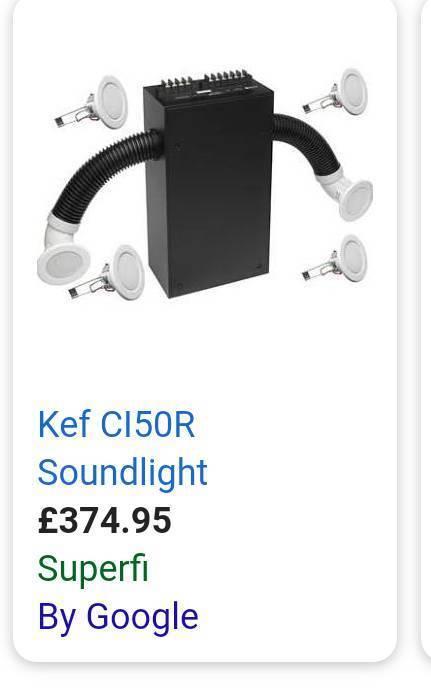 Kef Ci50R SOUNDlight