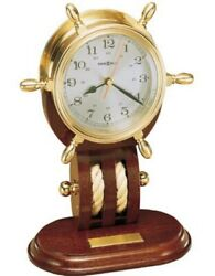 Howard Miller mantel clock - Britannia, solid brass - List $549