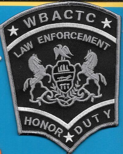 Wilkes-Barre Area Career & Technical Center LAW ENFORCEMENT HONOR DUTY PENN PA