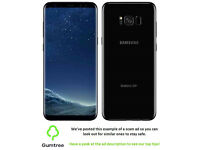 Samsung S8 plus -- Read the description before replying to this ad!!
