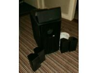 Onkyo 5.1 speakers 120w 6ohm active sub