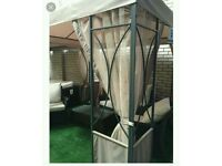 Gazebo curtains, sides and roof cover