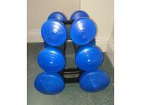 Dumbell set 2.5lb - 10lb (1.1kg - 4.5kg)