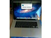 "Macbook pro unibody 15"" 2008 1000gb hdd full working order"