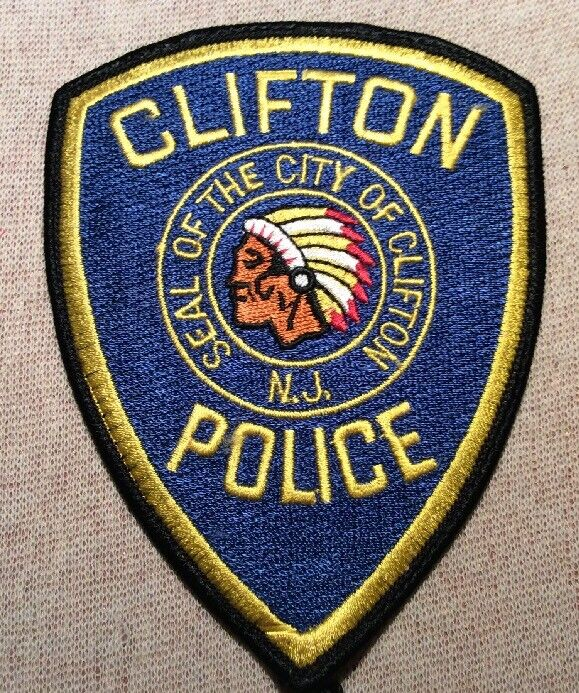 NJ Clifton New Jersey Police Patch