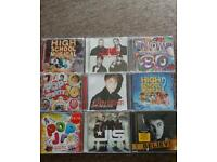 Selection of children's CD's