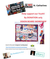 DESIGN YOUR DREAMS:VISION-BOARD WORKSHOP - Donate what you can!