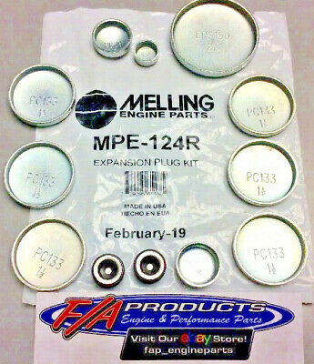Melling MPE-252R Freeze Plug Kit