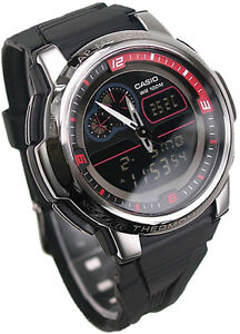CASIO-OUTGEAR-THERMOMETER-WORLD-TIME-ALARM-MENS-RESIN-WATCH-AQF-102W-1-AQF102W