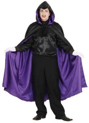 ze in schwarz-lila zum Kostüm Halloween Karneval Fasching (Halloween-kostüme In Schwarz)
