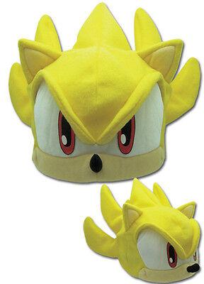 NEW Great Eastern GE-2339 Sonic the Hedgehog Series - Super Sonic Fleece Cap!!!!