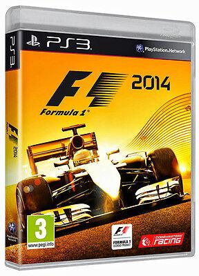 F1: Formula 1 2014 PS3 *in Excellent Condition*, usado comprar usado  Enviando para Brazil