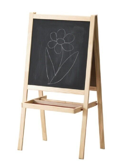 MALA Easel Chalk Board  Whiteboard Children Arts And Crafts Supplies School Gift