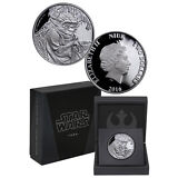 2016 Niue $2 1 Oz Proof Silver Star Wars Classics Series Yoda (In OGP) SKU40654