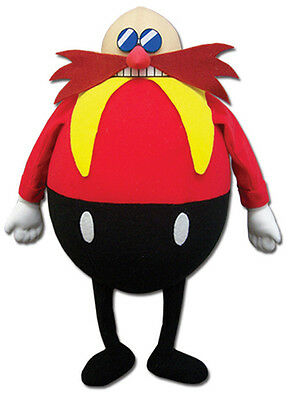 14  Dr  Eggman  Ge 52632  Plush Stuffed Doll   Official Sonic The Hedgehog Toy