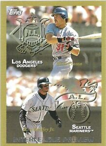 2010 Topps Cards Your Mom Threw Out Mike Piazza / Ken Griffey Jr
