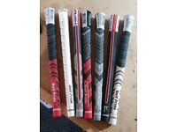 Grips, Re-shaft, Putter Grip, Driver Adapters.