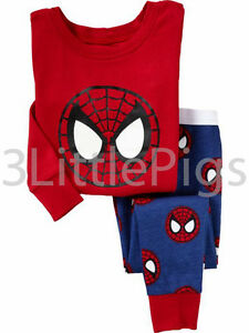 BabyGap Pyjamas Long Sleeve Cute Boys Super Hero Toddler Infant PJs Pajamas