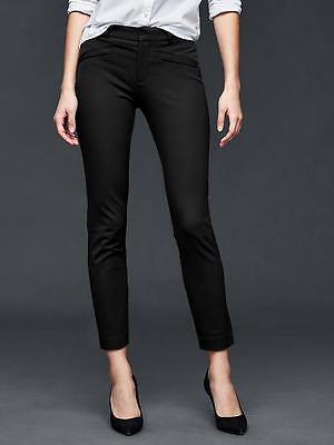 Gap Women's Black Bi-Stretch Skinny Ankle Pants Size 14 Regular