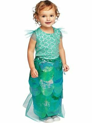 Old Navy new Infant Baby Girls 2 Piece Mermaid Halloween Costume size 6-12 M NWT
