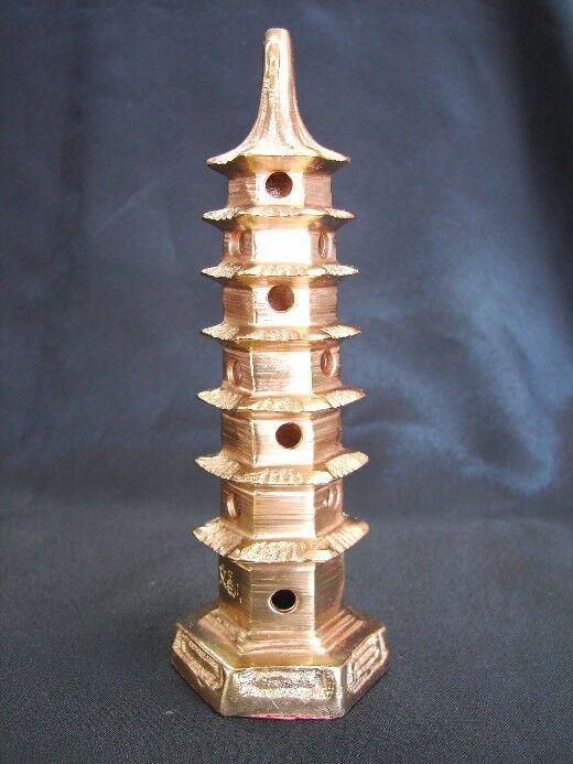 """5 1/4"""" Feng Shui Copper Pagoda"""
