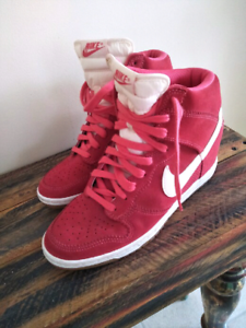 differently fc83e a8081 Shoes Wedge SneakersWomen s Dunk Skinny High Nike Top 5ARj34L