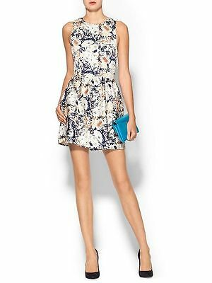 NWT Pim+Larkin, piperlime high neck cutaway mini dress,Small