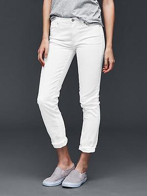Gap Womens White Authentic 1969 Best Girlfriend Jeans Size 30 Size 10