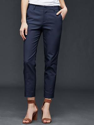 Gap Women's True Indigo Slim Crop Pants Size 4 Petite