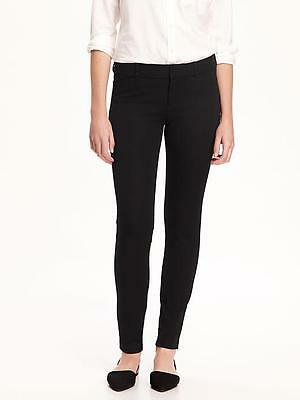 New Old Navy Black Pixie Mid Rise Ankle Length Pant sz 6  NWT $36