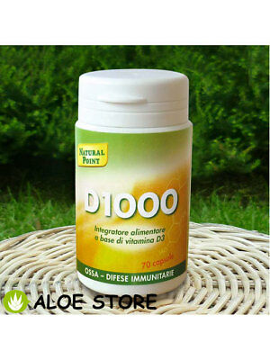 D1000 da 70 capsule NATURAL POINT - INTEGRATORE ALIMENTARI A BASE DI VITAMINA D3