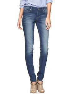 NWT FALL 2013 GAP 1969 ALWAYS SKINNY MEDIUM WASH JEANS 30 / 10 REG