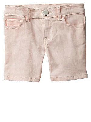 Baby Gap Toddler Girls Bermuda Denim Shorts Pink Cameo Size 12 18 Months Nwt
