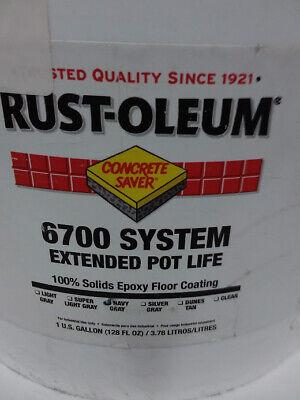 Rust-oleum 301678 Floor Epoxy Coating Navy Gray 1 Gal. 6700 Series