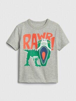 NWT BABY GAP BOYS  T-SHIRT TOP dinosaur dino rawr  you pick size