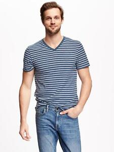 Old Navy men's blue white striped t-shirt Size XXL New with tags London Ontario image 1