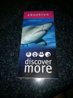 1x swim with sharks voucher