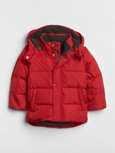 Down Puffer Jacket(18-24 months) Red